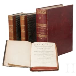 Four books on the wars of liberation 1813 - 1815, 1st half of the 19th century
