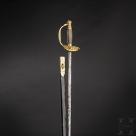 A small sword for members of the municipal government of Rome, ca. 1800