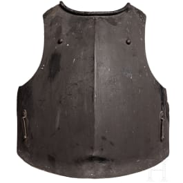 A breastplate for cuirassier troopers, collector's replica in the style of the 18th century