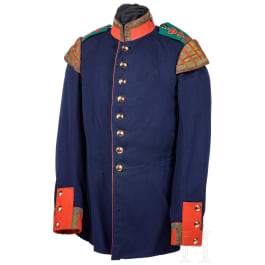 A tunic for a musician in the 6th Baden Infantry Regiment Kaiser Friedrich III No. 114, circa 1900