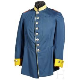 Baden - a tunic for a lieutenant in the 2nd Baden Dragoon Regiment No. 21, circa 1900