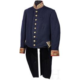 A tunic for a Bavarian official, circa 1900