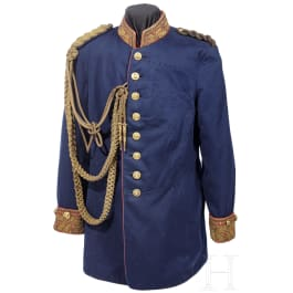 An embroidered tunic for Saxon generals, before 1910