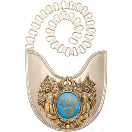 Gorget for Officers, around 1900