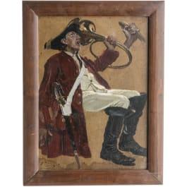 Richard Schaupp - an oil painting, circa 1920