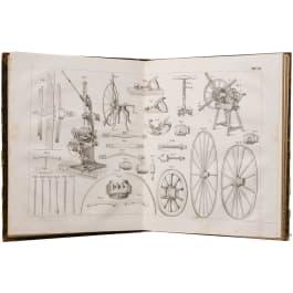 """""""Stellmacher und Wagenbau"""", an illustrated book by Wilhelm Rausch"""