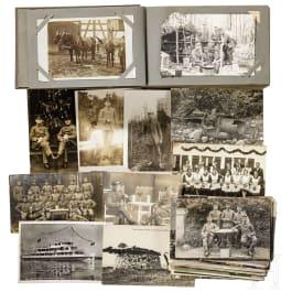 Fotoalbum Vogesen-Front (Front des Vosges), 1914-18
