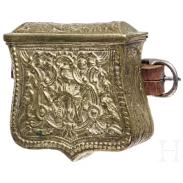 A cartridge box from the Balkans, 19th century