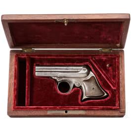 "Remington-Elliot ""Pepperbox"" Deringer, 4 Shot ""Pocket Repeater"", USA, um 1870"