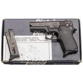 """Smith & Wesson Mod. 469, """"The Minigun"""", im Karton"""