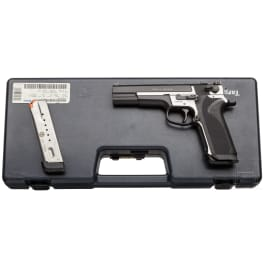 Smith & Wesson Mod. 3566 Performance Center, im Koffer