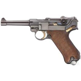 """A """"Sneak"""" Luger by DWM, """"Landjäger"""", with holster"""