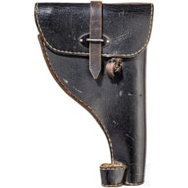 A holster for a Walther flare gun, army model