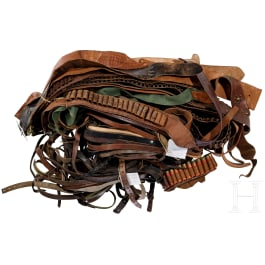 Large lot of belts, civilian and military, Germany, 20th century
