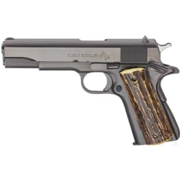 A Colt Super .38 Automatic Model, with holster
