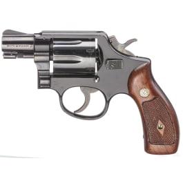 "Smith & Wesson Mod. 12, ""The .38 Military & Police Airweight, mit Tasche, Luftwaffe"