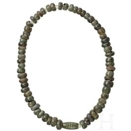 A Central European bronze necklace, Urnfield Culture , 1300 - 800 B.C.