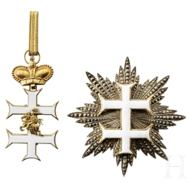 An East or South-East European breast star and neck decoration, 20th century