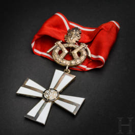 Finnish Order of the Cross of Liberty – a Cross 1st class with Oak Leaves and Swords