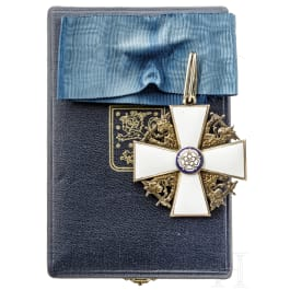 Finnish Order of the White Rose - a commander's cross
