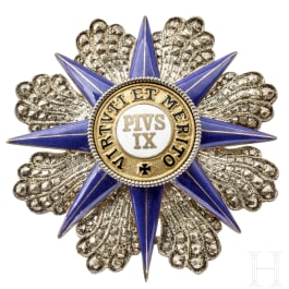 A breast star of the Order of Pope Pius IX, 20th century