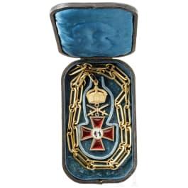 Großes Ehrenkreuz des Bezirksvorstands des Deutschen Fechtvereines