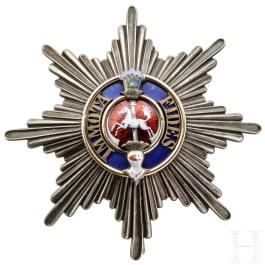 Orden Heinrichs des Löwen - Stern zur 1. Klasse, ab 1908