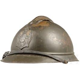 A Serbian steel helmet M 15 Adrian, 1915 - 1918