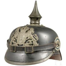 A helmet M 1915 for enlisted men/NCOs of the Bavarian infantry