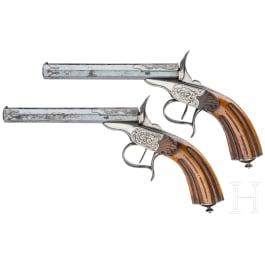 Ein Paar Salonpistolen, um 1880