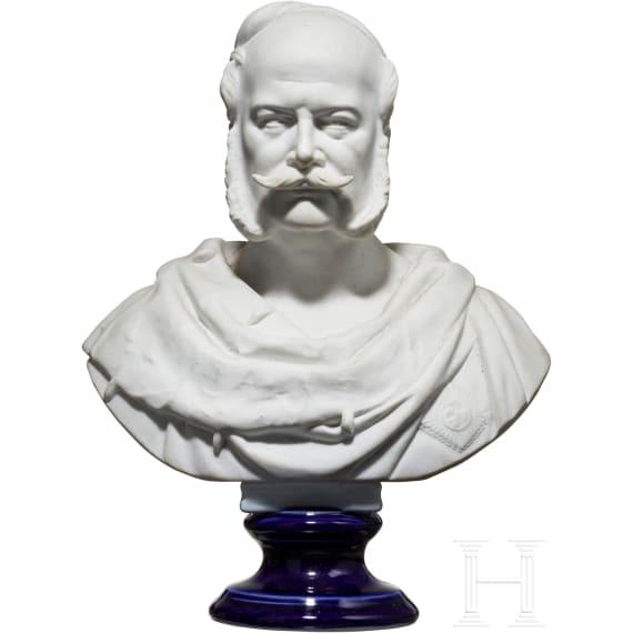 Emperor Wilhelm I. - KPM portrait bust