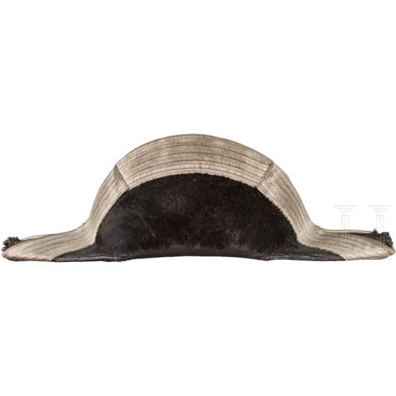 Bicorne for naval engineers in admiral rank of the Imperial Navy