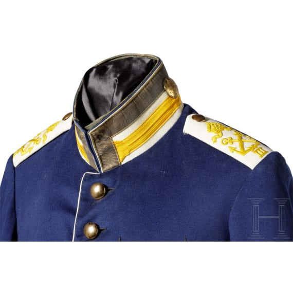 Tunic and trousers of a nco in the III. sea battalion, c. 1900