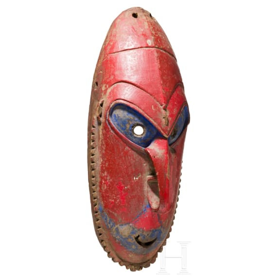 A Papua New Guinean dancemask from the Murik lakes