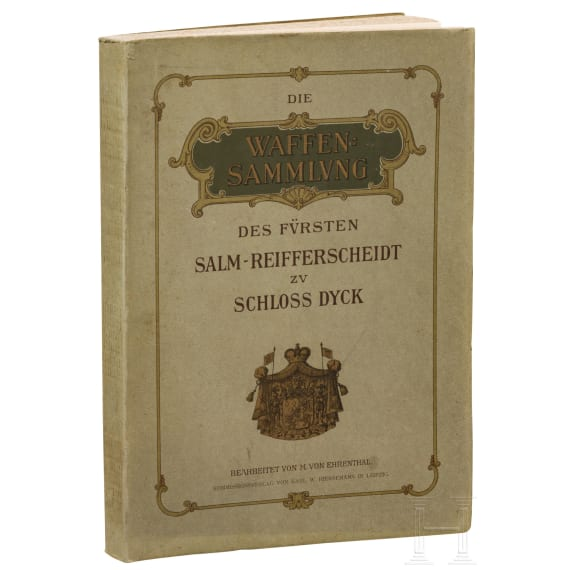 Ehrental, M. von, Die Waffensammlung des Fürsten Salm-Reifferscheidt zu Schloss Dyck, Leipzig 1906.