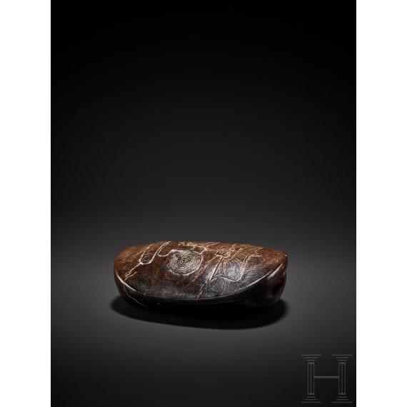 A Chinese Late Neolithic Liangzhu jade ritual tool, 3300 - 2200 B.C.