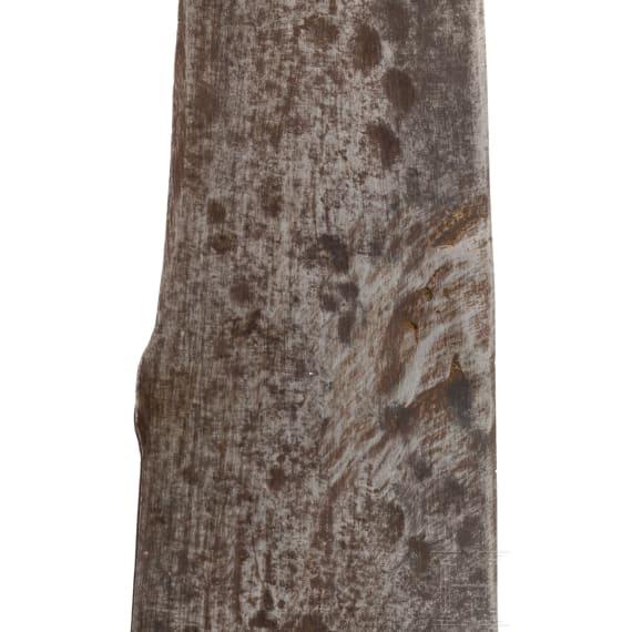 A rare Portuguese glaive, 16th century