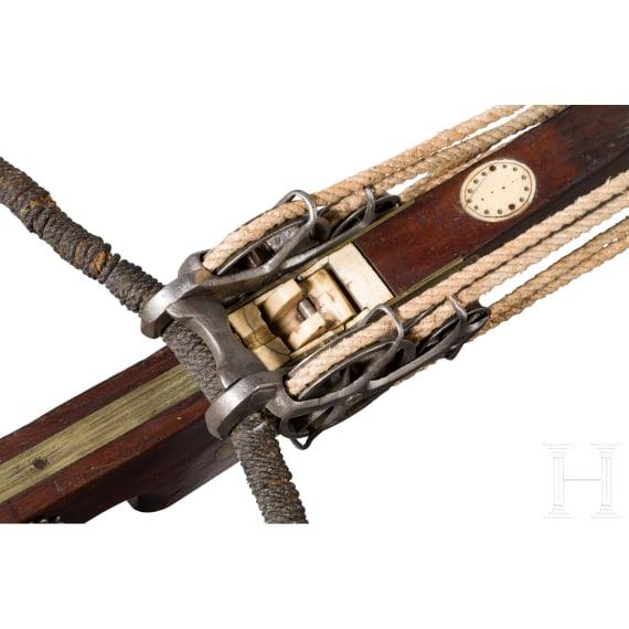 Schützenarmbrust, flämisch, 18. Jhdt.
