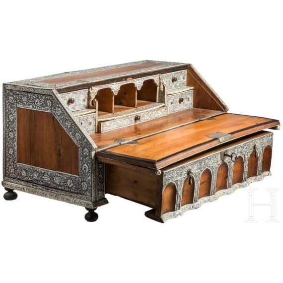 An exquisite table cabinet, Vizapatagam, circa 1740 – 1760