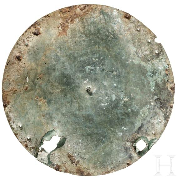 Bronzener Schildboss, Etrurien, 7. Jhdt. v. Chr.