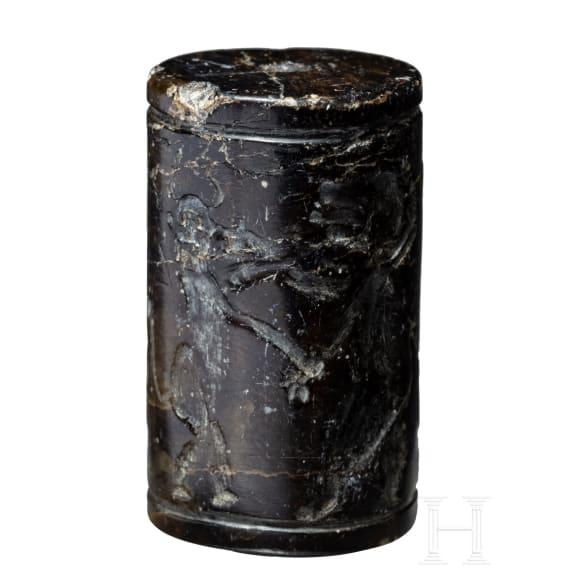 A Near Eastern Cylindric Seal, 2nd millennium B.C.
