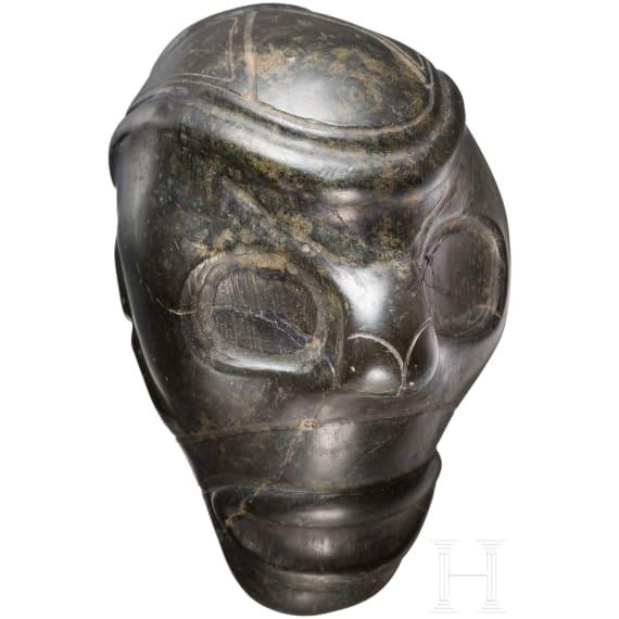 A Caribbean Taíno mask head, 11th - 15th century