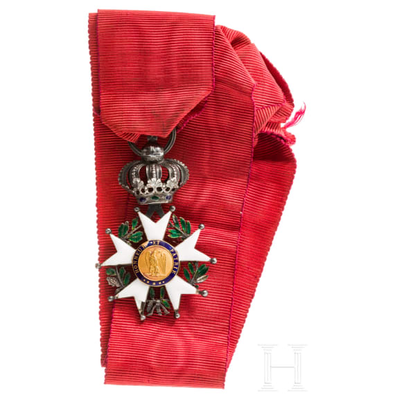 An Order of the Legion of Honour (Légion d'honneur)