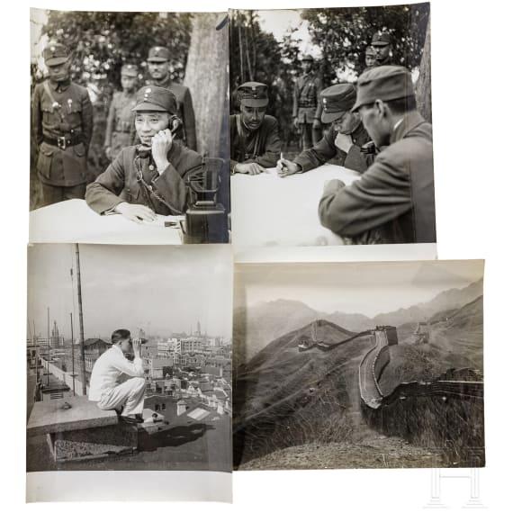 """Fotografien von Pierre Verger, """"Die Schlacht um Shanghai (淞沪会战) 1937"""", Sino-Japanischer Krieg"""