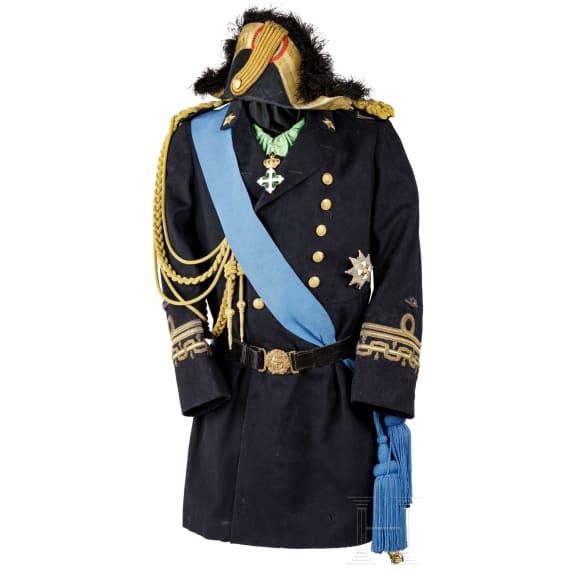 "A parade uniform of Amero d'Aste (1853 - 1931), admiral of the Royal Italian navy ""Regia Marina"""