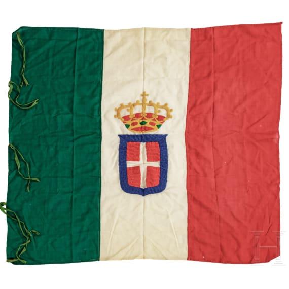 Corpo dei Bombardieri (1916 - 1919) - Kriegsflagge und Prunkkassette