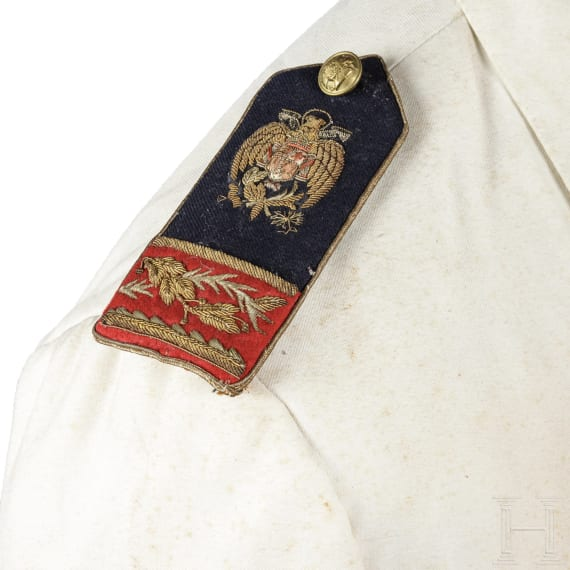 A tunic for a member of the fascist Falange movement, circa 1935