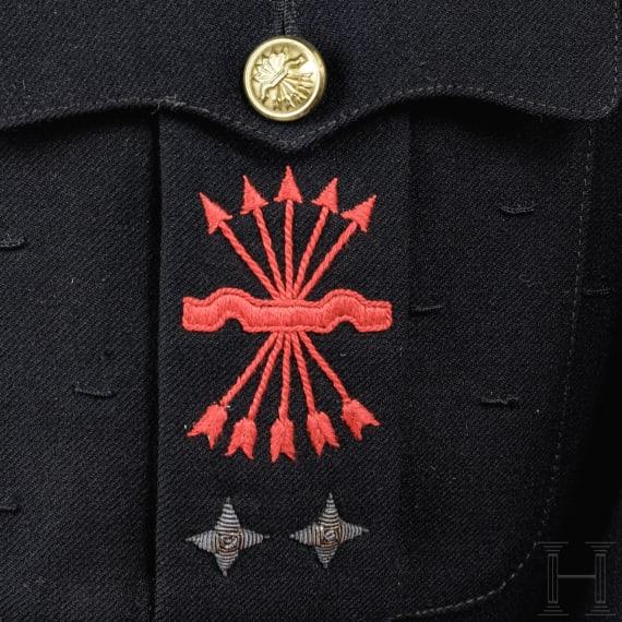 Rock und Hose für einen Angehörigen der faschistischen Falange-Bewegung, um 1935