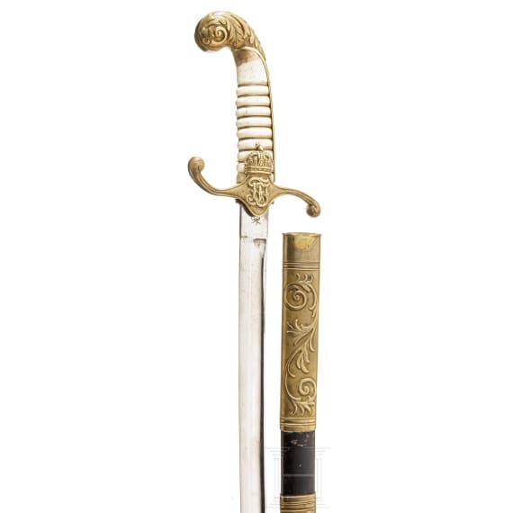 A sabre for Royal Hungarian civil servants, circa 1850