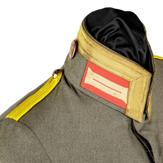 A field blouse for an NCO of the infantry, circa 1916